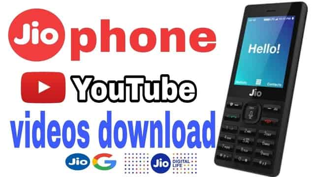 how to download youtube video in jio phone