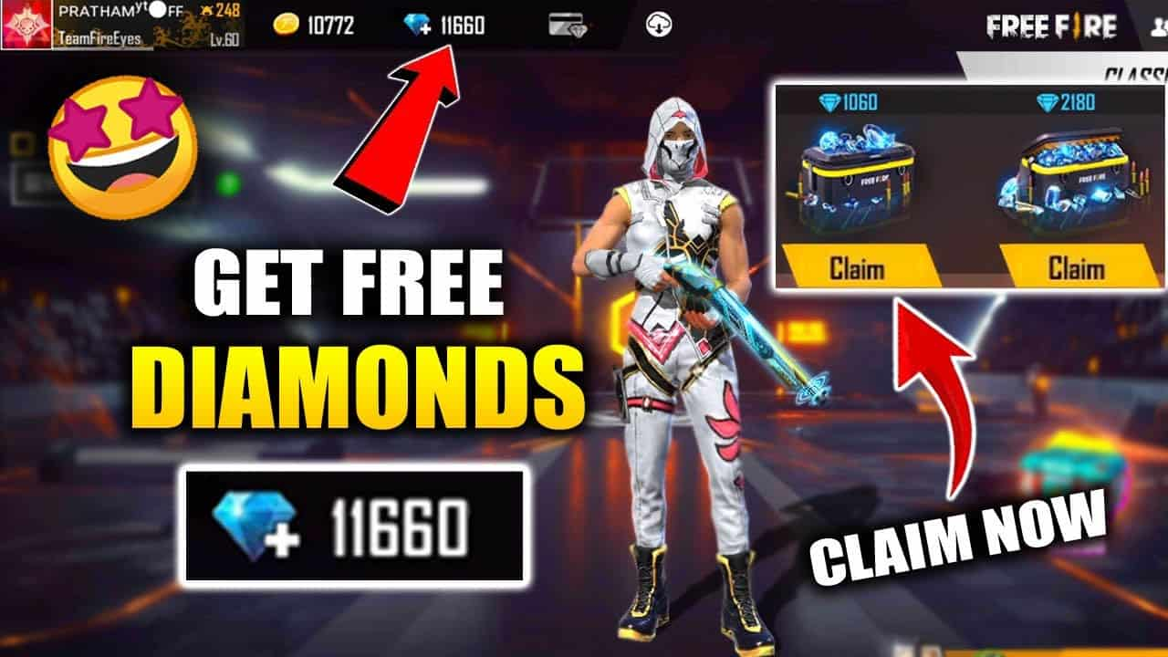 How To Get Free Diamonds in Free Fire Without Money